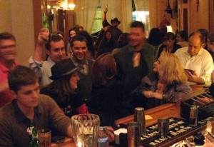CD Release Party Crowd