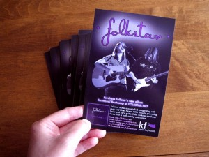 Folkstar New Postcard