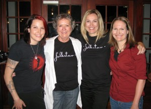 Folkstar with Sue's family!
