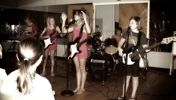 Girl Rock NC Campers