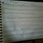 "Sue's tablature for ""Final Curtain"""