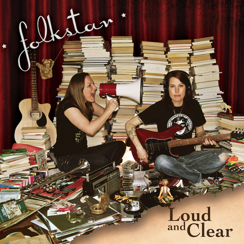 Folkstar's Loud and Clear album cover