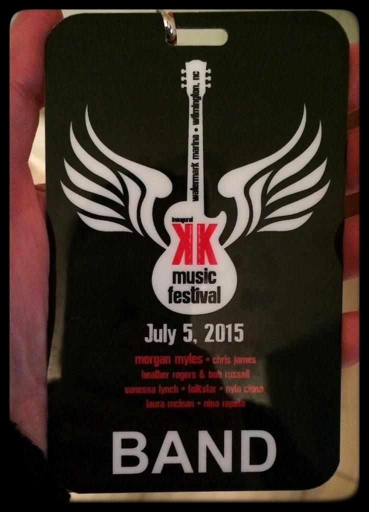 Karen Kane Music Festival Folkstar band lanyard