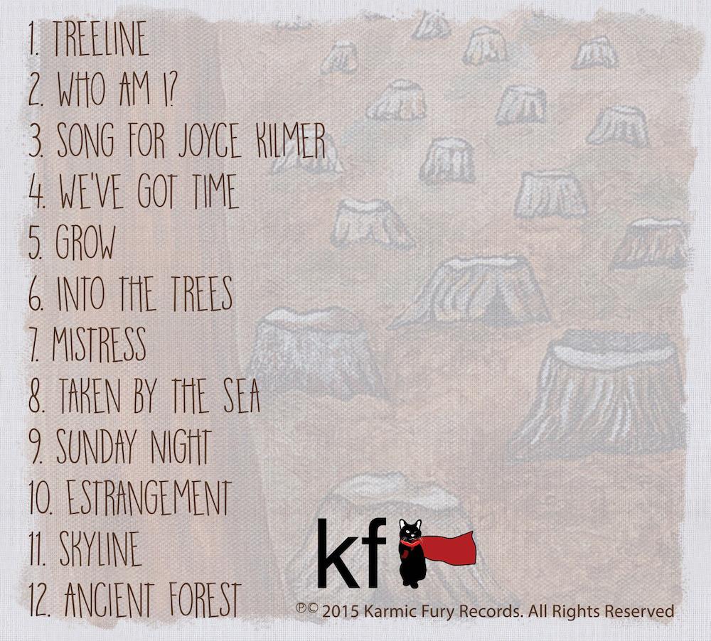 Folkstar album Treelines and Skylines Art