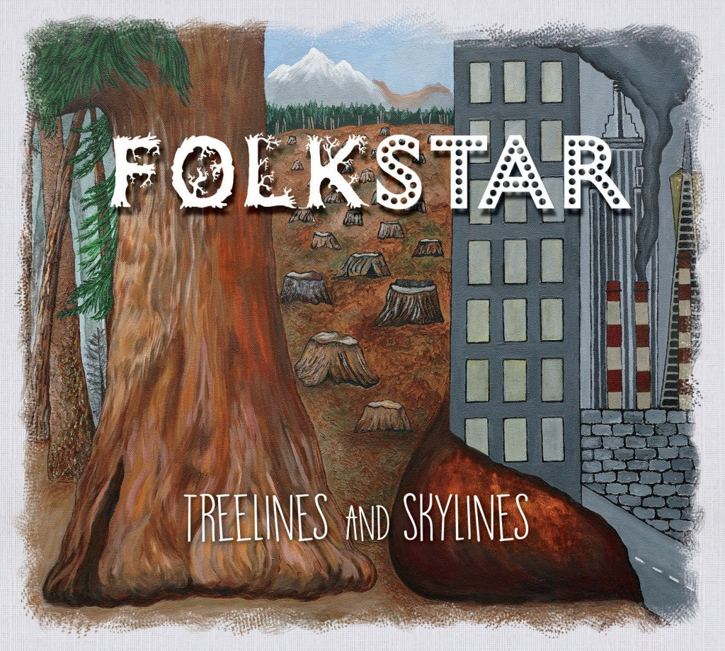 Folkstar album Treelines and Skylines Cover Art