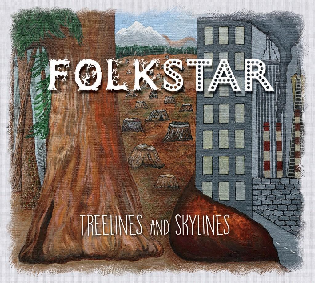 Folkstar album Treelines and Skylines Cover Art
