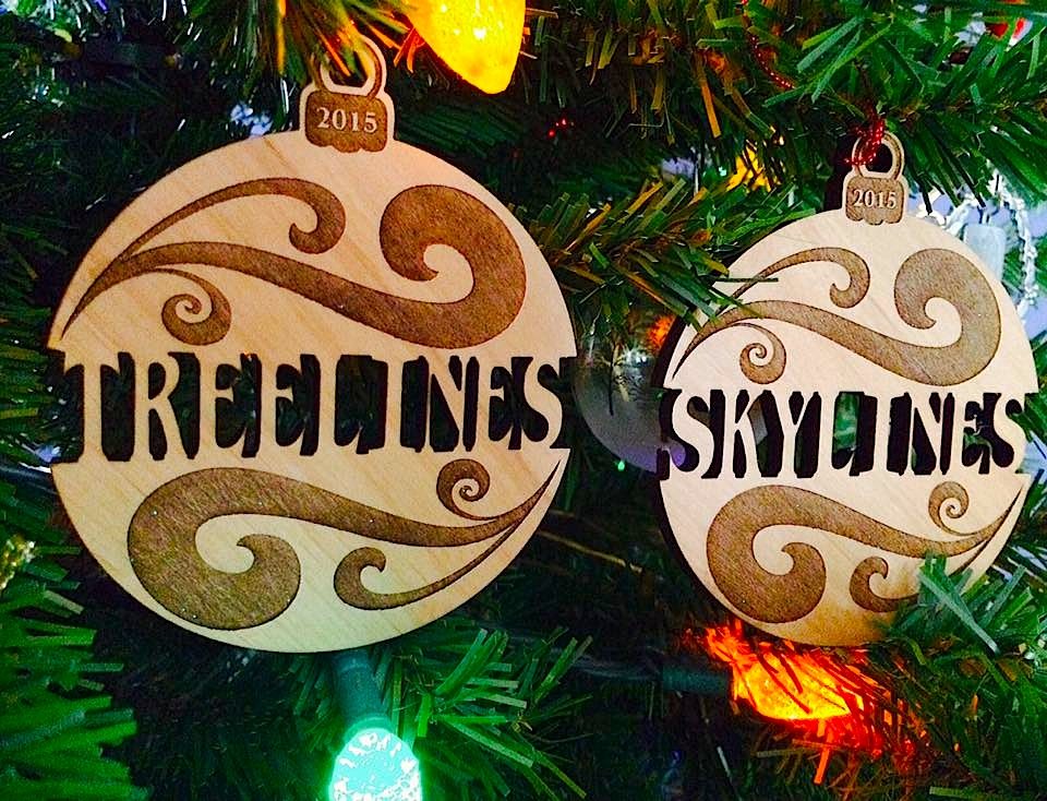 Treelines and Skylines Ornaments
