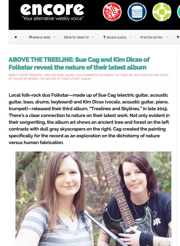Folkstar Encore Online Article March 2016
