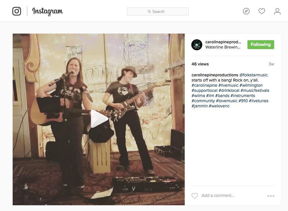 Folkstar CPMF Video on Instagram