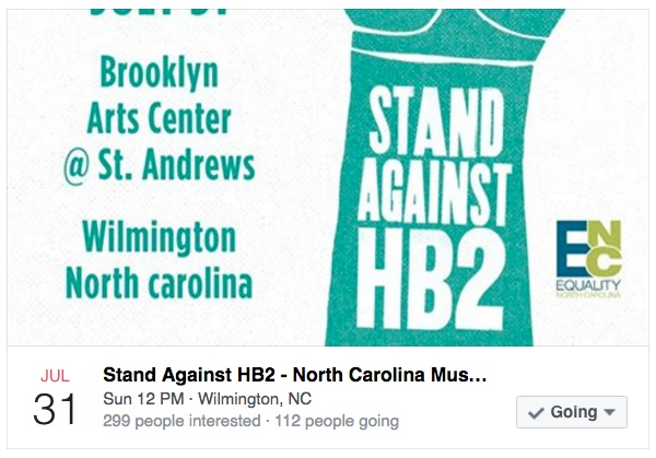 Stand Against HB2 - Folkstar