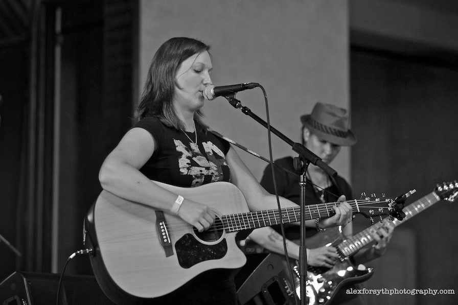Folkstar at Stand Against HB2 Concert_BW